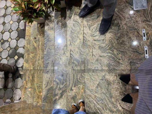 đá granite vàng sa mạc