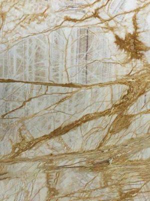 đá marble vàng vân dễ cay