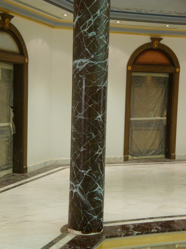 cột đá cẩm thạch màu đen đẹp chất lượng cao