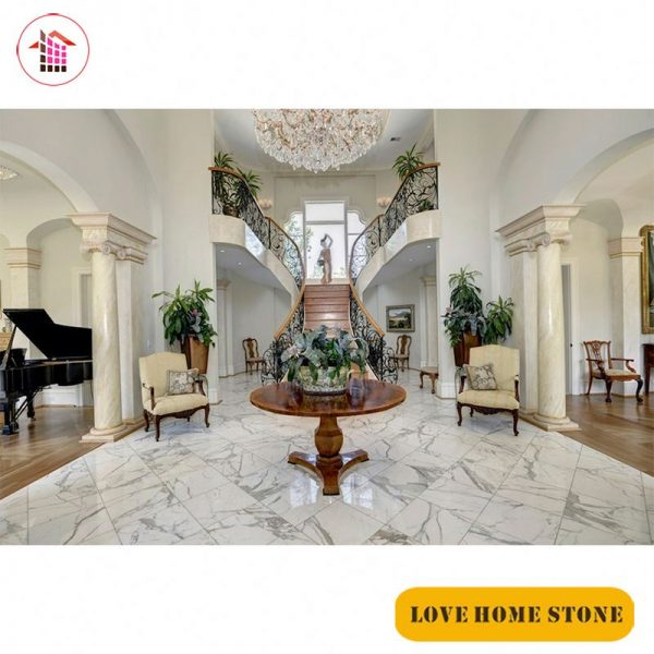 Chúng tôi có đầy đủ màu sắc cột đá hoa cương tròn lắp đặt cho quý khách bao gồm các màu chính như cột màu xanh, màu trắng, màu đen, màu vàng kem...