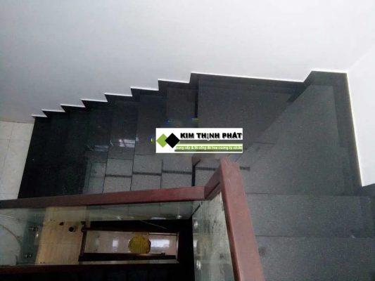 cầu thang đá granite đen campuchia