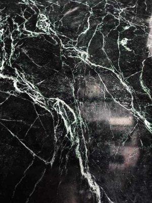 Đá marble xanh tia chớp