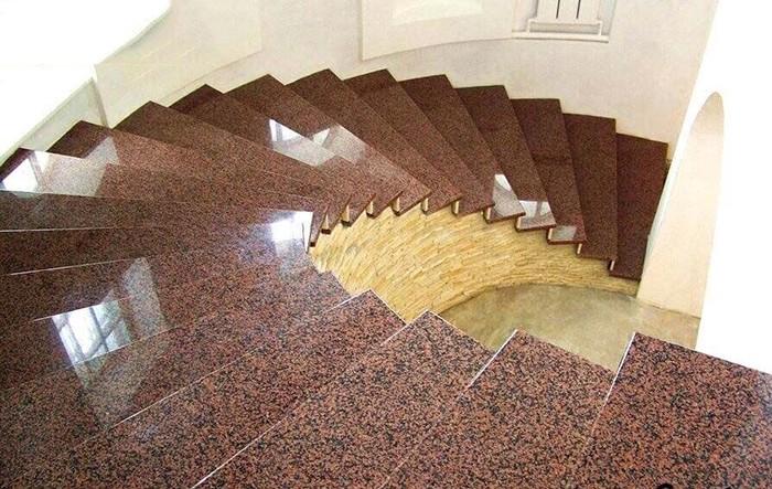 Đá hoa cương ốp cầu thang - Lựa chọn hàng đầu
