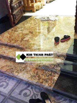 KIM THỊNH PHÁT chuyên cung cấp, bán đá và lắp đặt công trình đá Đá Vàng Alaska bao gồm ốp cầu thang, ốp bàn bếp, ốp mặt tiền, lát nền nhà, ốp cột đá giá rẻ uy tín chất lượng trên toàn quốc gọi ngay 093 8744 888
