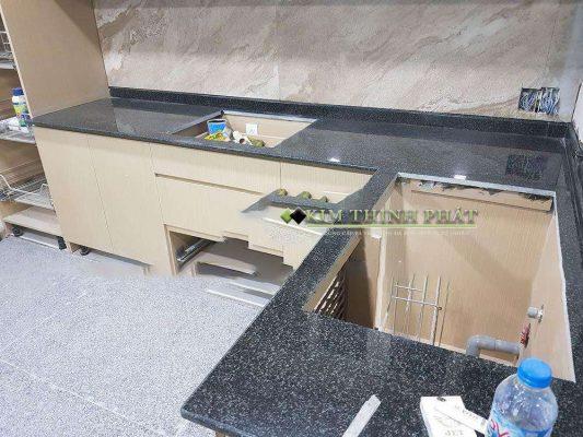 Đá Granite đen Ấn Độ Bông Lài