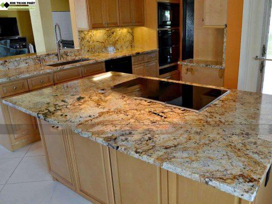 Đá Granite vàng Solarius